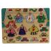 Fakopáncs Lányos lap öltöztető puzzle