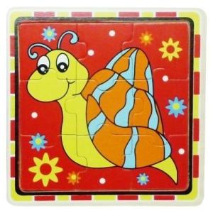 Fakopáncs Puzzle 9 db-os csigás