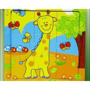 Fakopáncs Puzzle 9 db-os zsiráfos