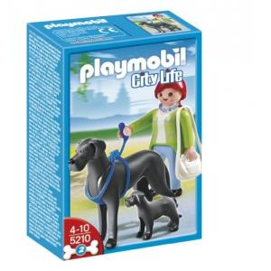 Playmobil Kutyasétáltatás-Dán dogok - 5210