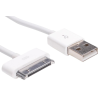 SANDBERG USB ->30-pin töltőkábel  5m