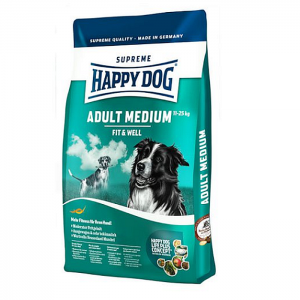 Happy Dog Supreme Fit & Well adult medium száraz kutyaeledel 12,5 kg