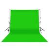König Fotós háttér 3x3m zöld