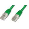 PremiumCord CAT6 UTP Patch kábel, 7 m, zöld