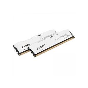 Kingston HyperX Fury White 8GB 1333MHz DDR3 memória Non-ECC CL9 Kit of 2