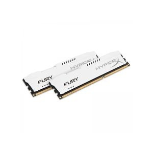 Kingston HyperX Fury White 16GB 1333MHz DDR3 memória Non-ECC CL9 Kit of 2