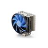 Deepcool DeepCool CPU Cooler - GAMMAXX S40 (17,8-21dB; max. 94,29 m3/h; 4pin csatlakozó; 4 db heatpipe, 12cm, PWM)