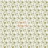 Design Papír - Arany virágos - fehér színű, gyöngyház fényű papír 120gr