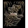 Képkarc készlet - Arany - Koala