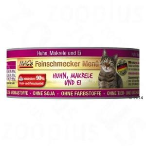 MAC's MAC´s Cat ínyenc 6 x 100 g - Szárnyas & lazac