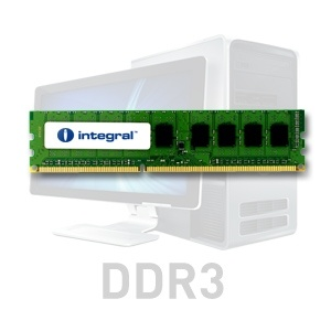 Integral 4GB DDR3-1066 DIMM CL7 R2 UNBUFFERED 1.5V