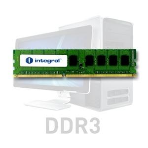 Integral 4GB DDR3-1066  DIMM  CL7 R2 UNBUFFERED  1.5V