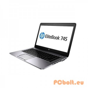 "HP EliteBook 745 G2 (F1Q23EA) AMD Quad-Core Pro A10-7350B,8GB,DDR3,Foglalat:2db,500GB,14"",LED,Matt kijelző,1600x900,Windows 8.1 Pro,NO DVD!,AUDI"
