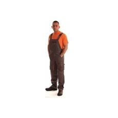 NEMMEGADOTT munkaruha kertésznadrág ROCK szürke-narancs (XL)