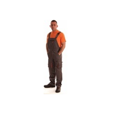 NEMMEGADOTT munkaruha kertésznadrág ROCK szürke-narancs (3XL)