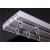 NEMMEGADOTT mennyezeti sín 2 soros 200cm (tartozékkal)