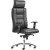 . Főnöki szék, műbőrborítás, alumínium lábkereszt,