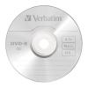 DVD-R lemez, AZO, 4,7GB, 16x, vékony tok, VERBATIM (DVDV-16V1)