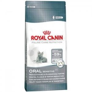 Royal Canin Oral Sensitive30 macskaeledel, 8Kg (121490)