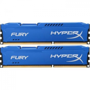 Kingston HyperX FURY Blue 8GB (2x4GB) Memória, DDR3, 1866MHz, CL10, 1.5V (HX318C10FK2/8)