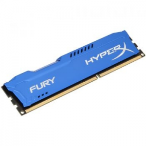Kingston HyperX FURY Blue 8GB Memória, DDR3, 1866MHz, CL10, 1.5V (HX318C10F/8)