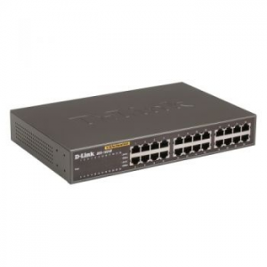 D-Link 24 port 10/100Mbps Switch, Auto-Uplink (DES-1024D)