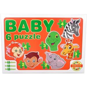 Dohány Vadállatok bébi puzzle