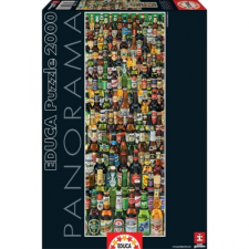 Educa Sörök 2000 db-os panoráma puzzle puzzle, kirakós