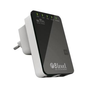 8level WRP-300 Wireless N300 2T2R repeater router 1xWAN/LAN  1xLAN