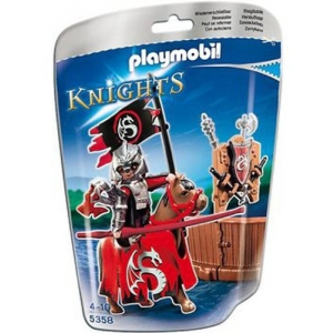 Playmobil Red Knight of the Dragon klán 5358