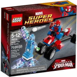 LEGO Super Heroes 76014 Spiderman: Spider-Trike vs. Electro