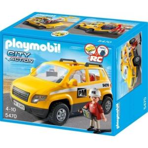 Playmobil 5470 Épitkezés vezető autója