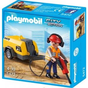 Playmobil 5472 Kőműves fúróval