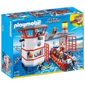 Playmobil A parti őrség állomásának a világítótoronya - 5539