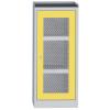 SCH T5 B vegyszerszekrény rácsbetétes ajtóval, kifolyásgátló polcokkal