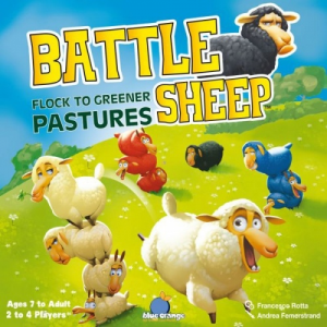 Orange Blue Battle Sheep - Harcos birkák
