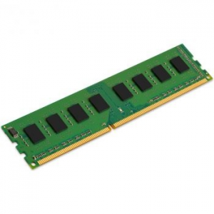Kingston 4GB Memória, DDR3, 1600MHz, Non-ECC, CL11, 1.5V, LowProfile (KVR16N11S8/4)