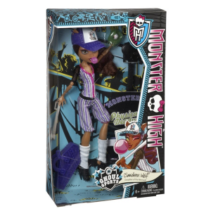 MONSTER High: Csini zordsportolók - Clawdeen Wolf