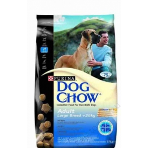 Purina Dog Chow Adult large breed 15kg 4db
