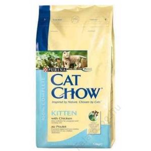 Purina Cat Chow Kitten Csirke 1,5Kg