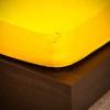 NATURTEX 100x200 cm-es jersey gumis lepedő (kukoricasárga)