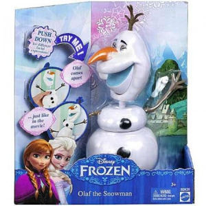 Disney Jégvarázs Olaf hóember baba - Mattel