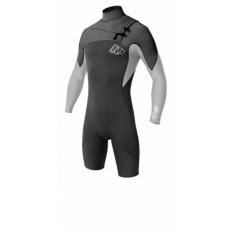 Kiteszörf ruha - 2014 NP Mission 3/2 FZ L/S shorty - Neoprene férfi kiteszörf ruha
