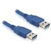 DELOCK USB 3.0 kábel A-A 0,5 m