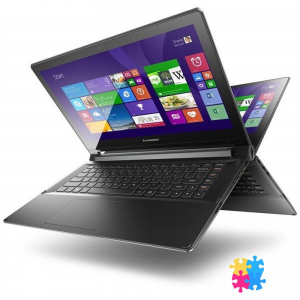 Lenovo Flex2 59-433697 14 /Intel Core i3-4030U/4GB/500+8GB/fekete/Win8.1 notebook
