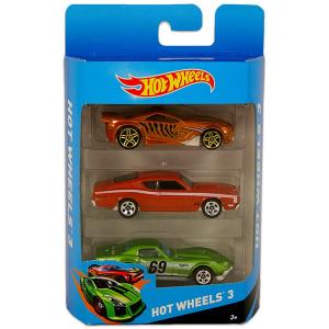 Hot Wheels kisautók: 3 db-os készlet - 201