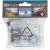 GoClever Waterpoof kamera tok átlátszó GCDVRACC03SET3