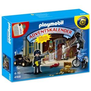 Playmobil Adventi naptár: Rablás a múzeumban - 4168