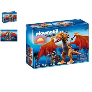 Playmobil Tűztestű és Lángharcos - 5483