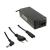 Whitenergy 19V/3.42A 65W hálózati tápegység 5.5x2.5mm csatlakozóval Fólia